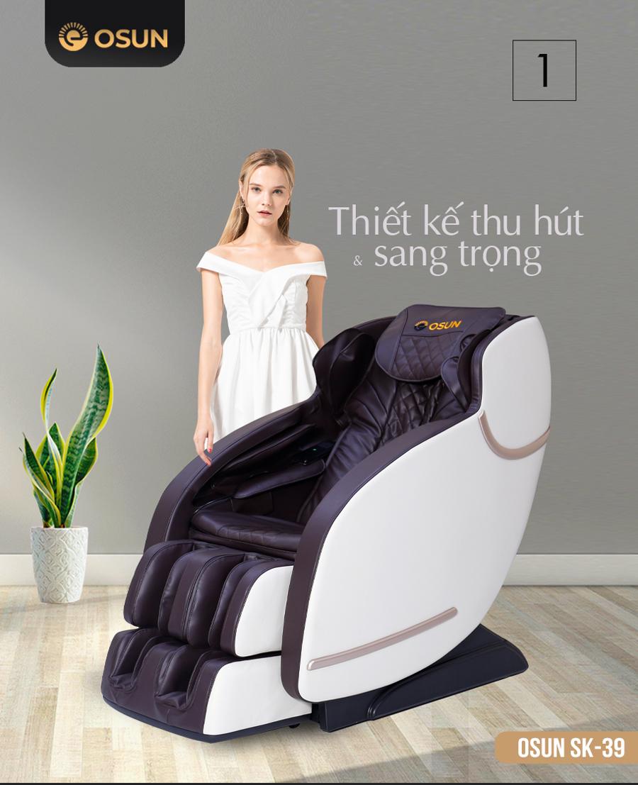 Ghế Massage cao cấp Osun SK 39